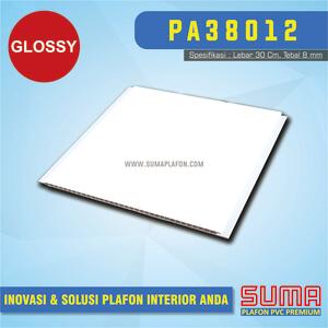 Plafon PVC Putih Glossy
