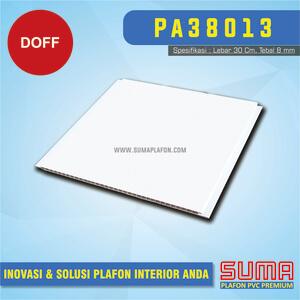 Plafon PVC Putih Doff