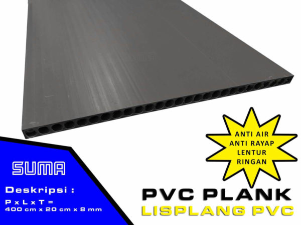 Lisplang PVC Dark Gray