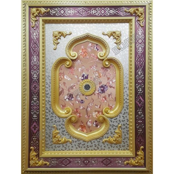 ORNAMEN PLAFON RECTANGLE GOLD