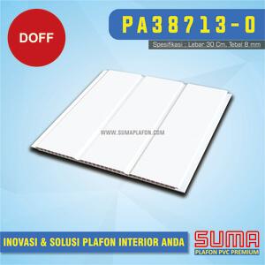 Plafon PVC Putih Doff Drain