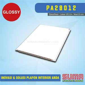 Plafon PVC Putih Glossy 20Cm